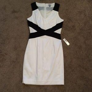 NWT Worthington Black & White Dress
